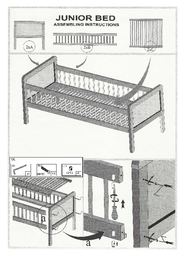 Juniorbed 70x150
